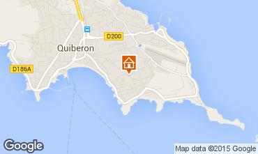 Carte Quiberon Appartement 68871