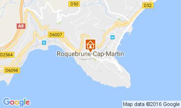 Carte Roquebrune Cap Martin Studio 94016