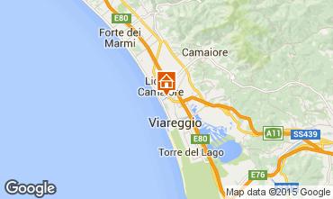 Carte Viareggio Appartement 44861