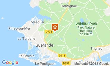 Carte La Baule Maison 112483