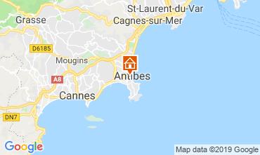 Carte Antibes Appartement 118703