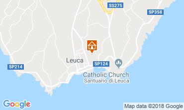Carte Santa Maria di Leuca Maison 116339