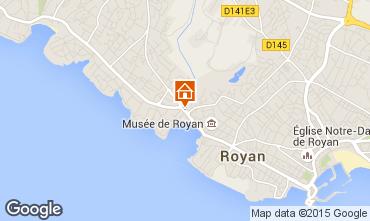 Carte Royan Appartement 90526