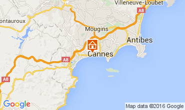 Carte Cannes Appartement 88211