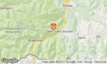 Carte Saint Lary Soulan Appartement 49293