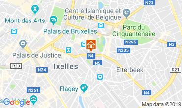 Carte Bruxelles Appartement 119925