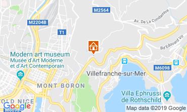 Carte Villefranche sur Mer Appartement 119303