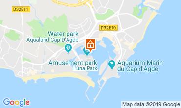 Carte Cap d'Agde Appartement 114789