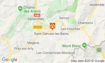 Carte Saint-Gervais-les-Bains Appartement 117068