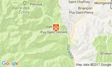 Carte Puy Saint Vincent Appartement 112746