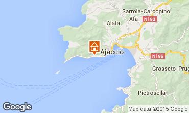 Carte Ajaccio Studio 7821