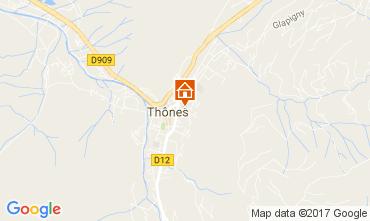 Carte Les Villards-sur-Thônes Appartement 109078
