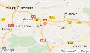 Carte Aix en Provence Villa 113762