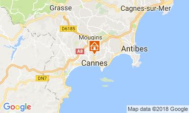 Carte Cannes Appartement 114415