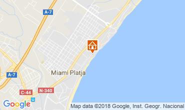Carte Miami Playa Appartement 56931