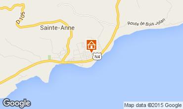 Carte Sainte Anne (Guadeloupe) Appartement 66397