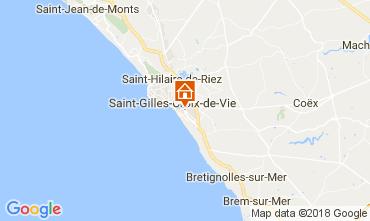 Carte Saint-Gilles-Croix-de-Vie Maison 113172