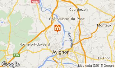 Carte Villeneuve lez Avignon Gite 88812