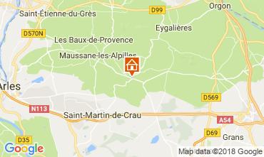 Carte Les Baux de Provence Gite 114985