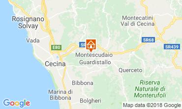 Carte Montescudaio Appartement 29998