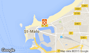 Carte Saint Malo Studio 83173