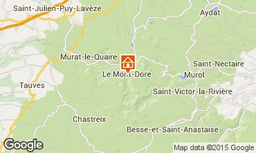 Carte Le Mont Dore Appartement 101375