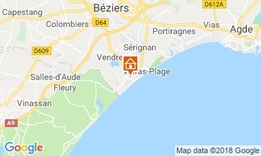 Carte Valras-Plage Maison 115066