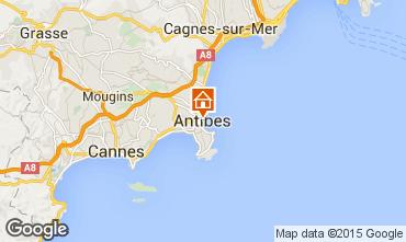 Carte Antibes Appartement 79579