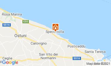 Carte Ostuni Villa 95250