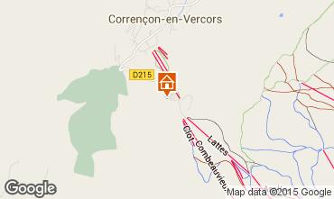 Carte Villard de Lans - Corrençon en Vercors Gite 71792