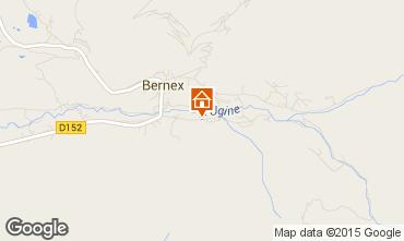 Carte Bernex Chalet 4880
