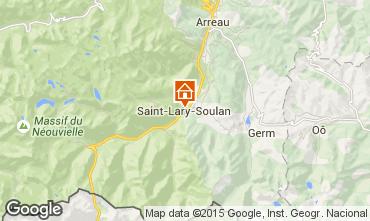 Carte Saint Lary Soulan Appartement 4508