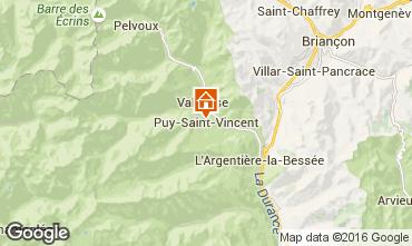 Carte Puy Saint Vincent Studio 94843