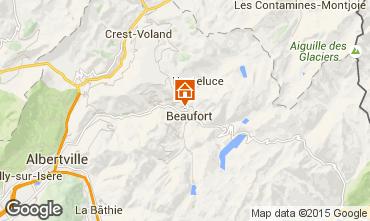 Carte Areches Beaufort Appartement 16073