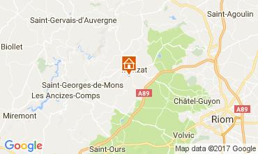 Carte Chatel-Guyon Gite 108589