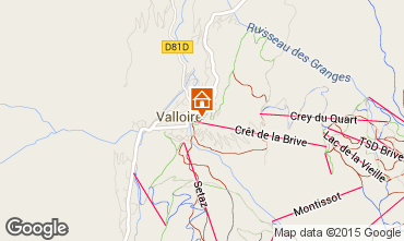 Carte Valloire Appartement 63867
