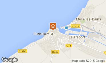 Carte Le Tréport Maison 16976