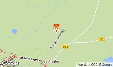 Carte Les Angles Gite 4819