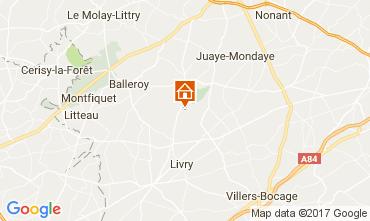 Carte Bayeux Mobil-home 13330