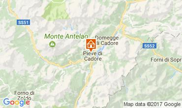 Carte Cortina d'Ampezzo Appartement 105108