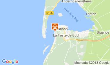 Carte Arcachon Villa 114512