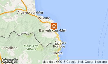 Carte Banyuls-sur-Mer Appartement 94634