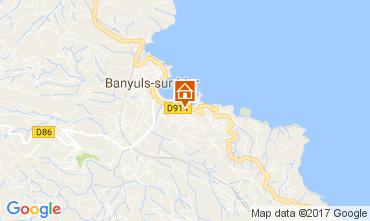 Carte Banyuls-sur-Mer Appartement 49276