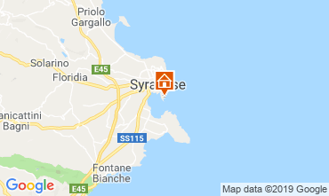 Carte Syracuse Appartement 119198