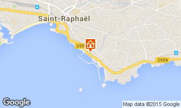 Carte Saint Raphael Appartement 22638
