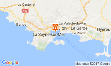 Carte Toulon Studio 32099