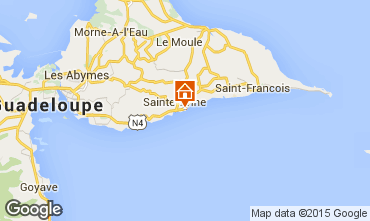 Carte Sainte Anne (Guadeloupe) Appartement 8021