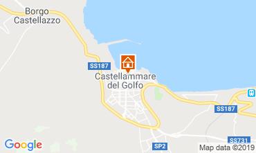 Carte Castellammare del Golfo Appartement 77385