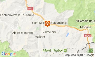 Carte Valloire Gite 111546