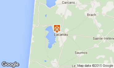 Carte Lacanau Maison 44203